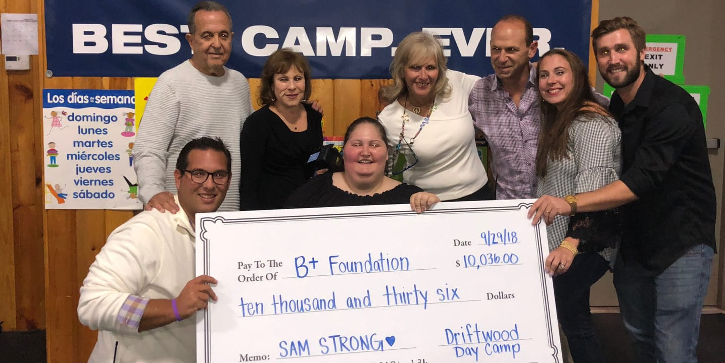 B+ Foundation group holding check